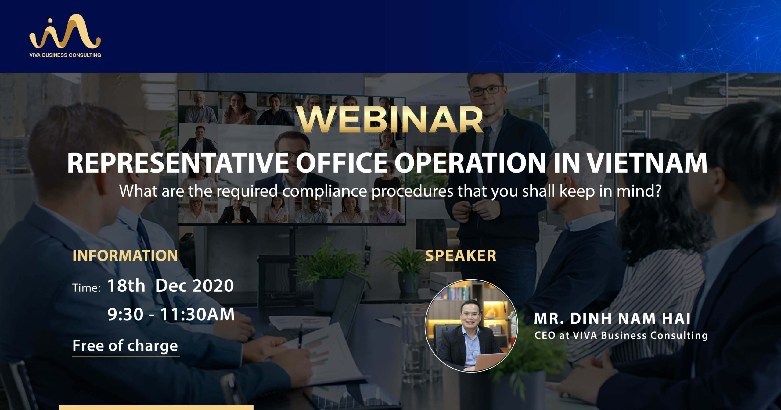 Webinar representative office in Vietnam
