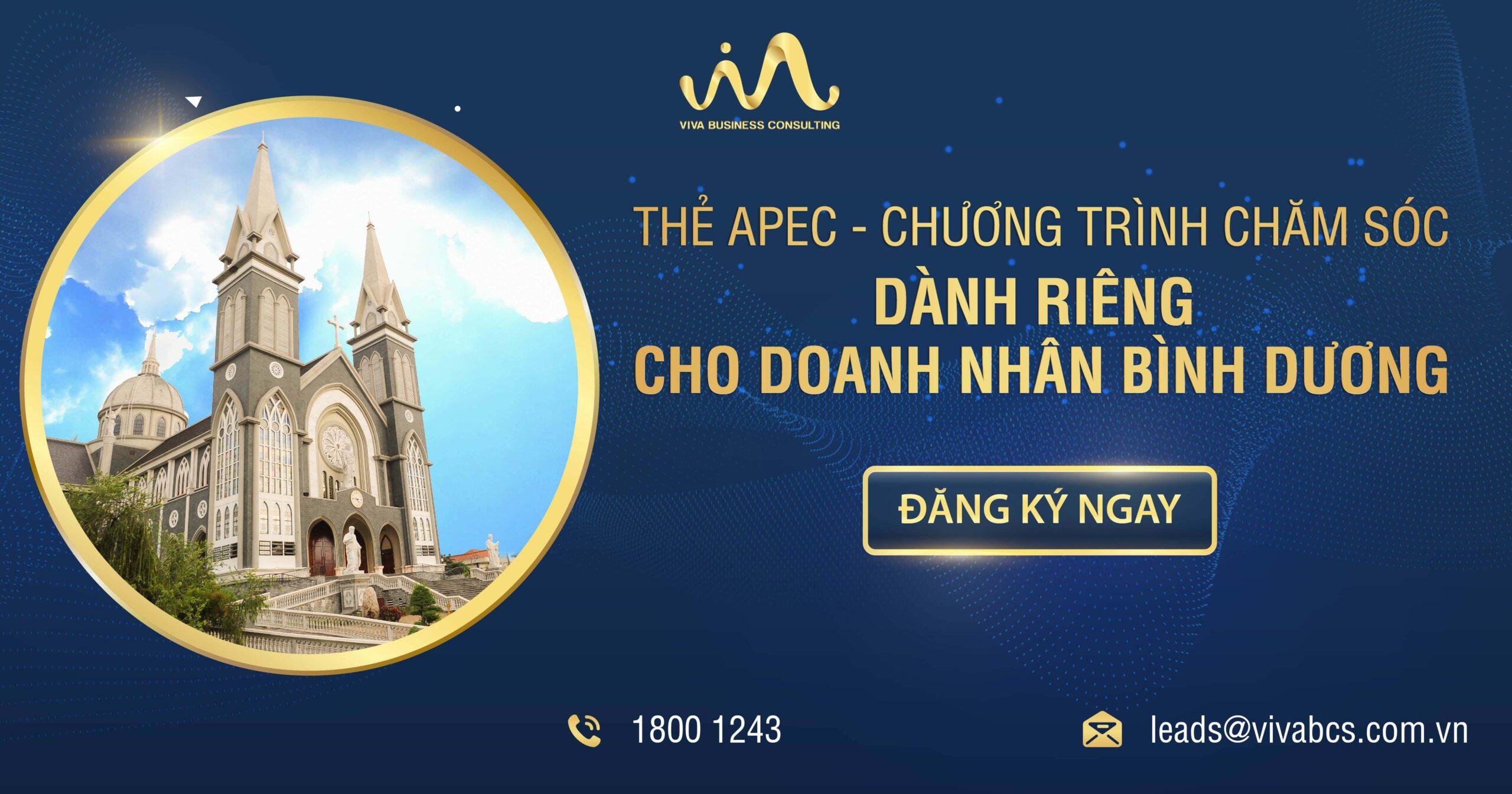 Thẻ APEC cùng doanh nhân Bình Dương
