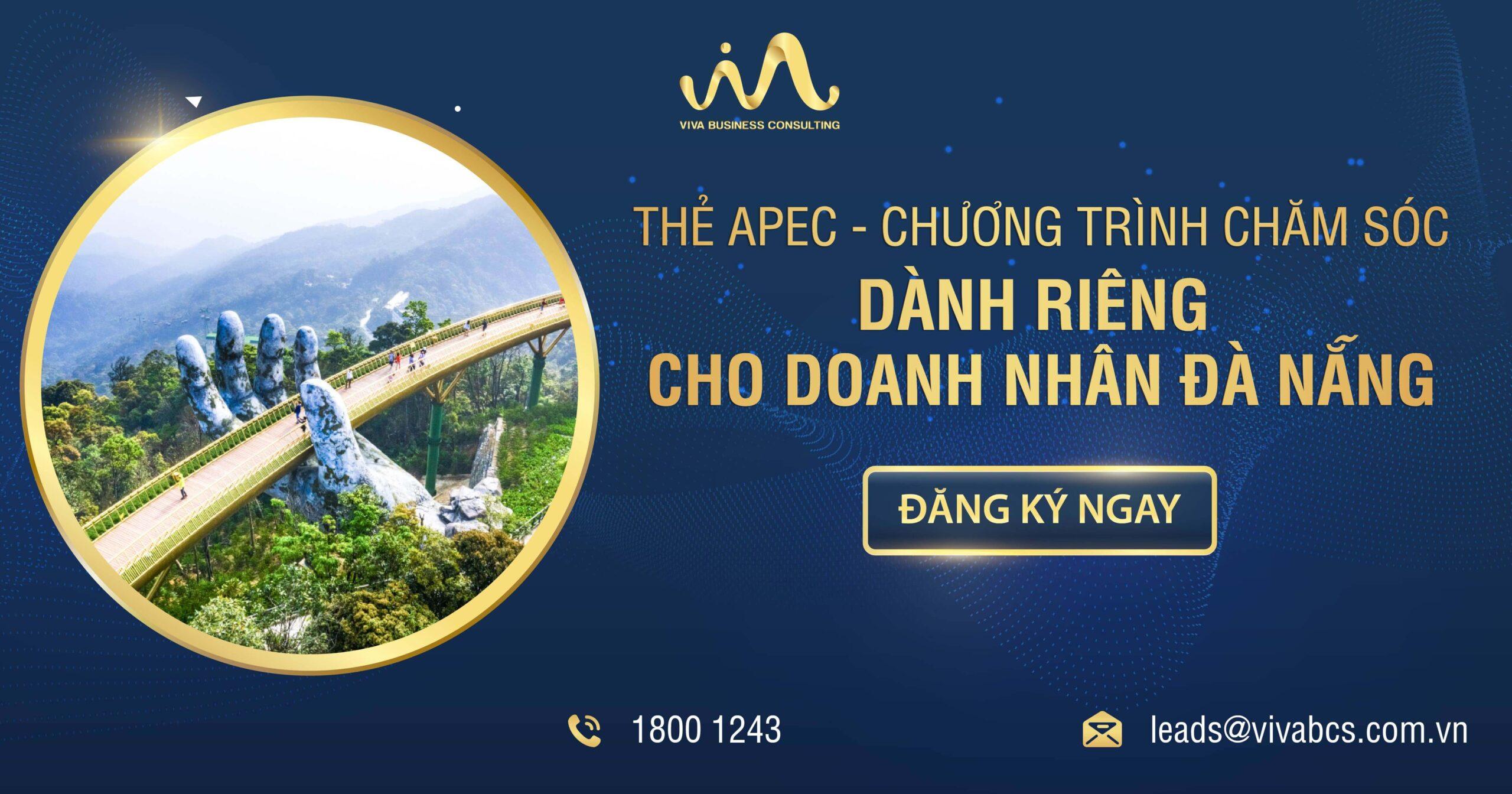 Thẻ APEC cùng doanh nhân Đà Nẵng