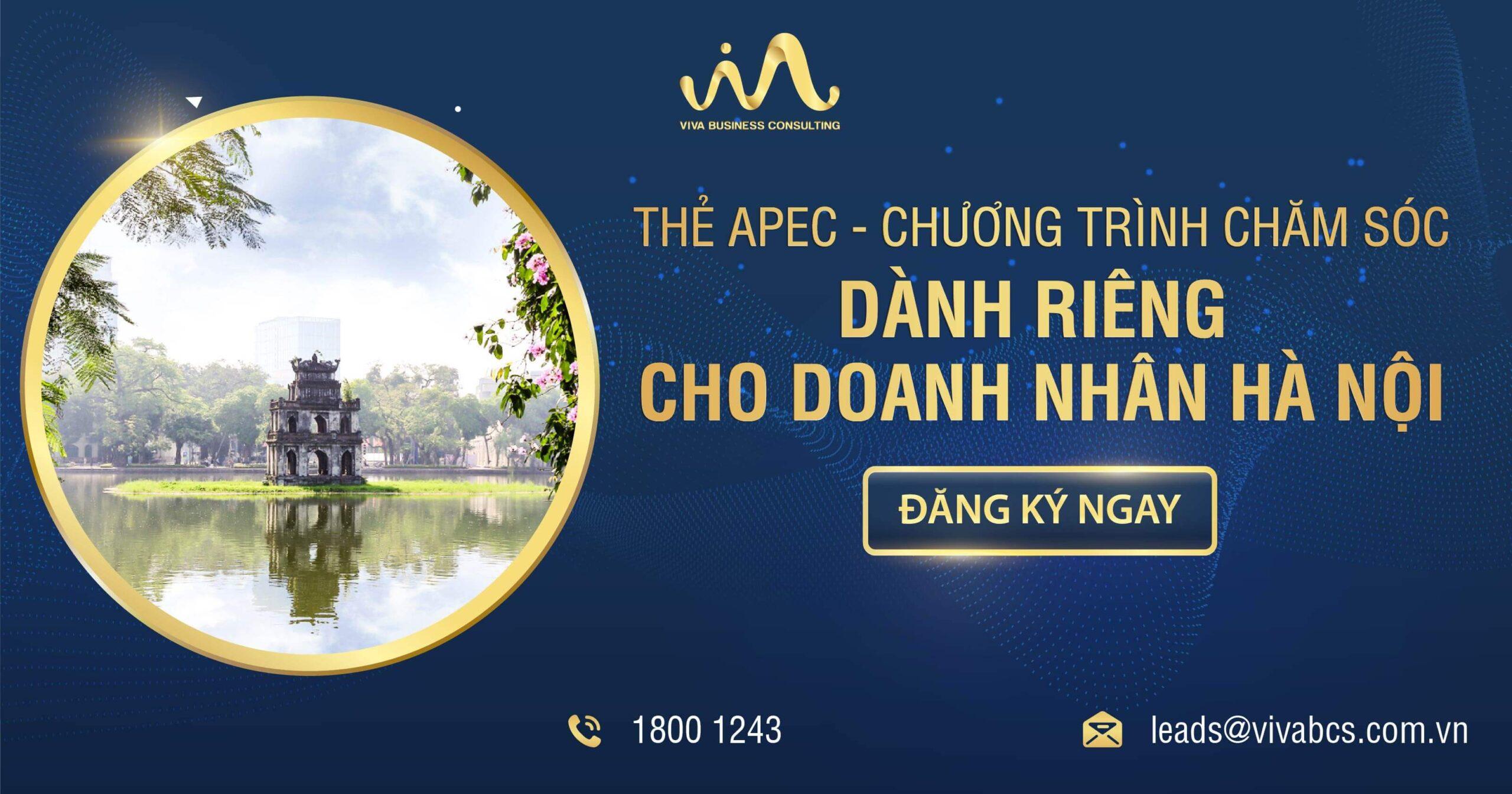 Thẻ APEC cùng doanh nhân Hà Nội