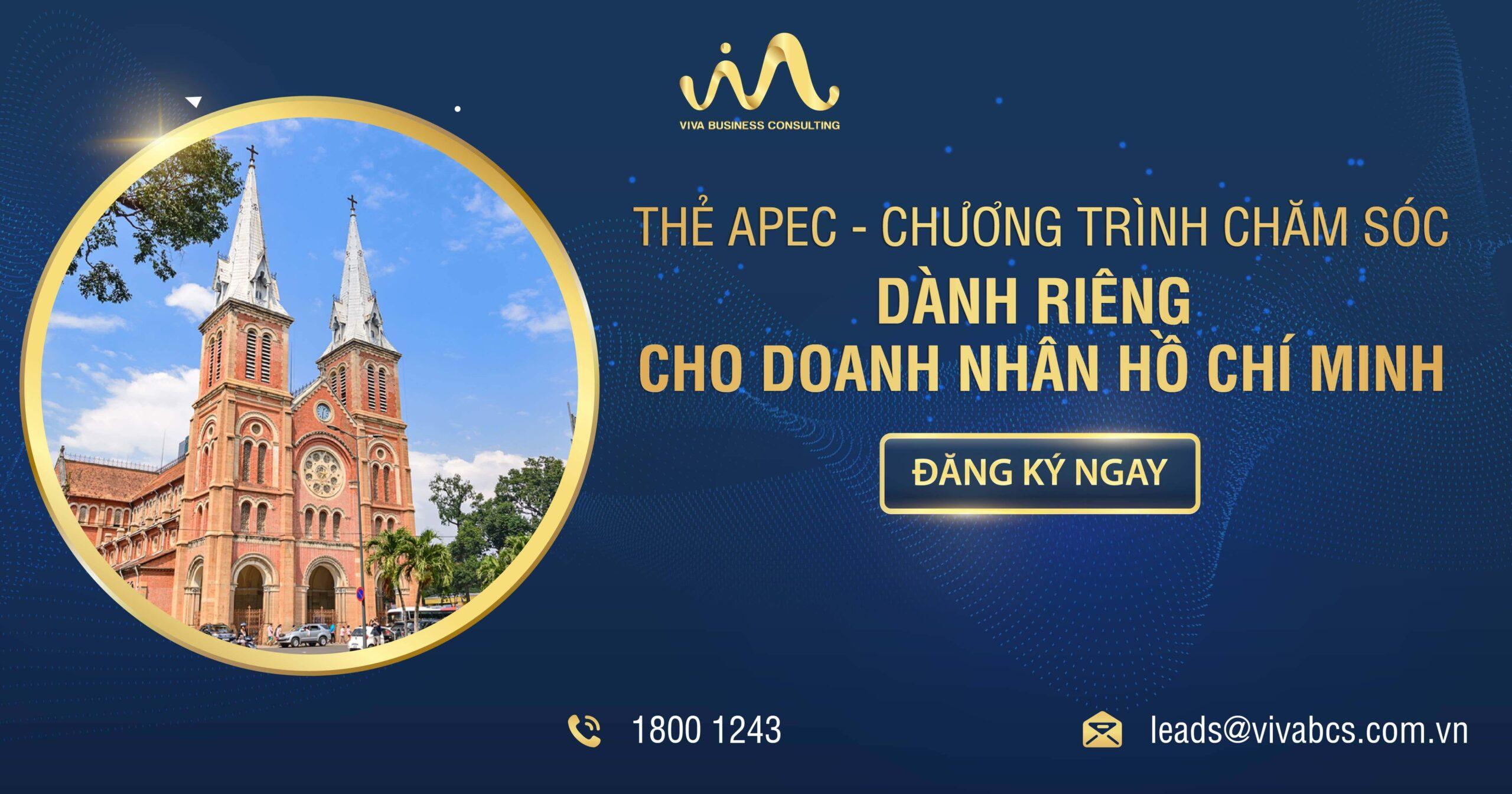 Thẻ APEC cùng doanh nhân Hồ Chí Minh
