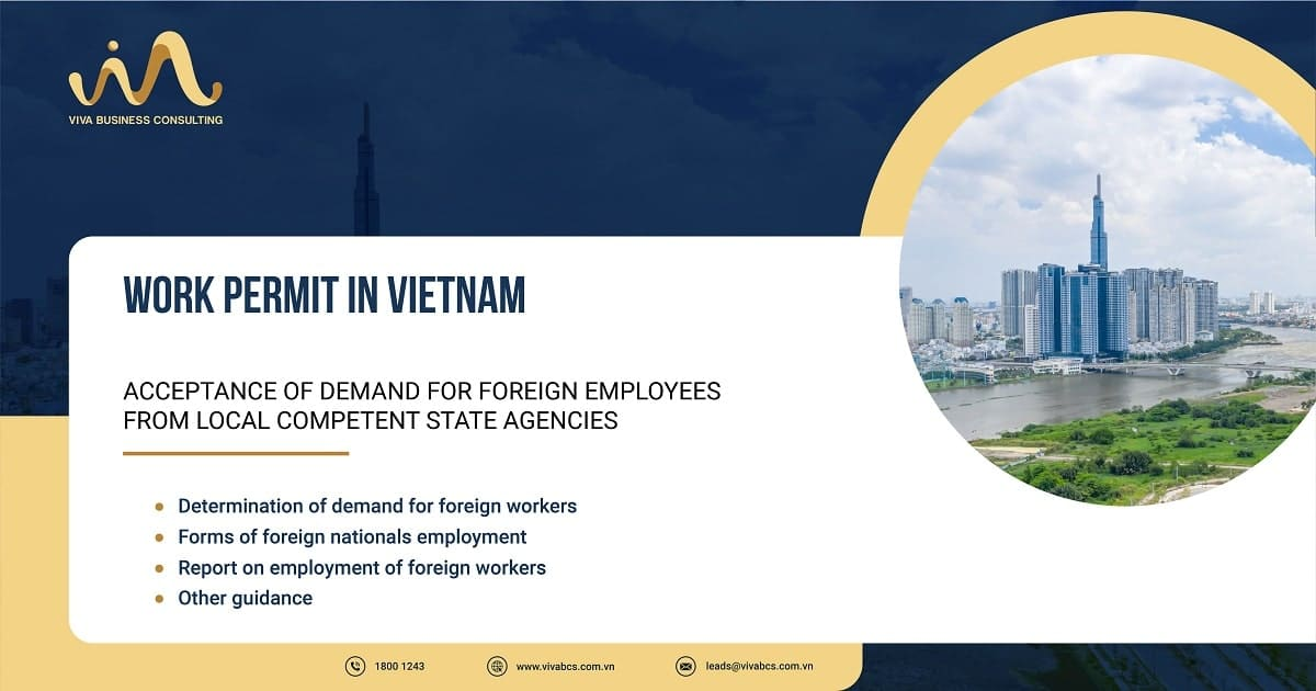 Acceptance of demand for foreign workers in Vietnam