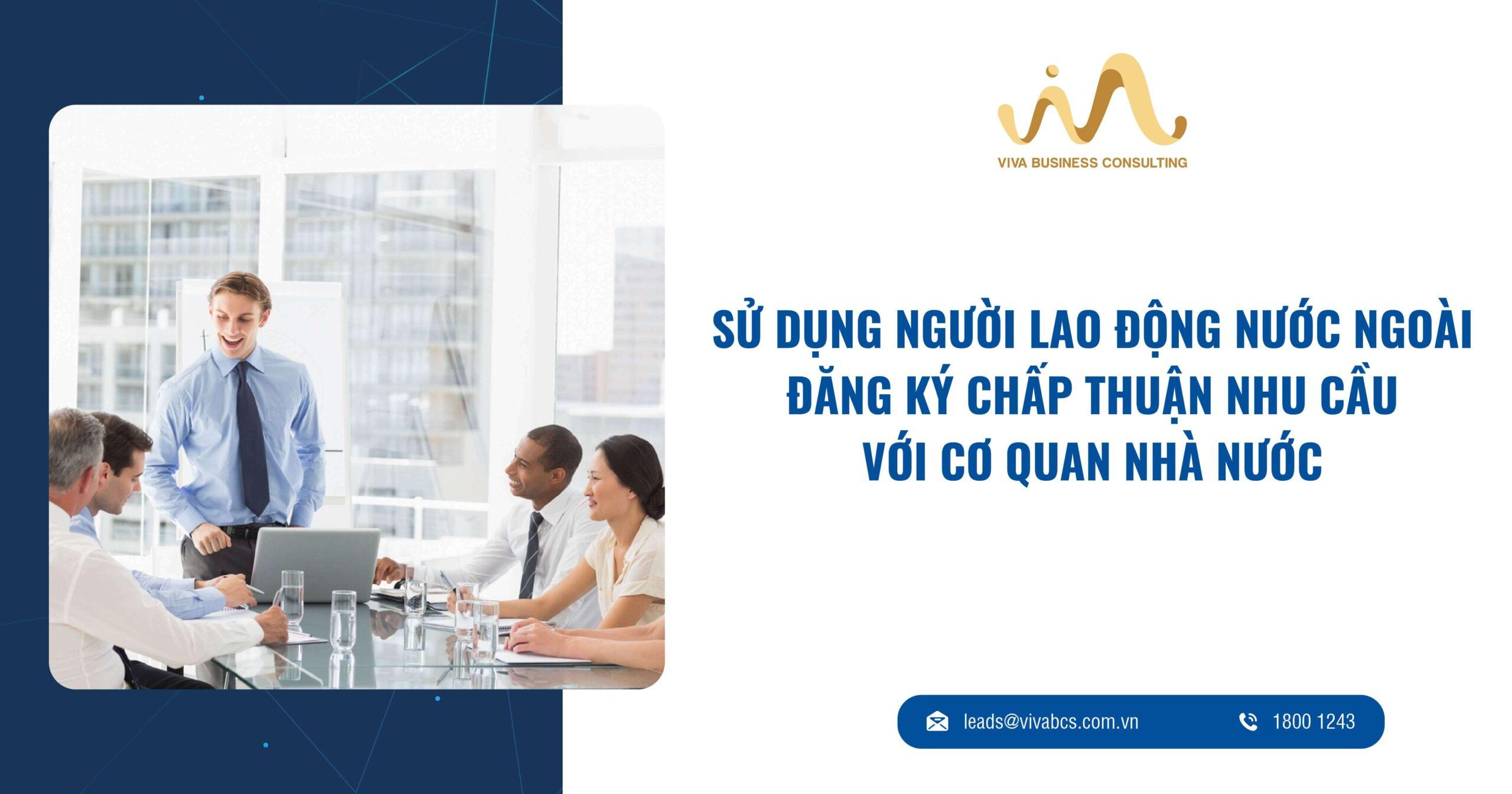 Đăng ký sử dụng người lao động nước ngoài tại Việt Nam