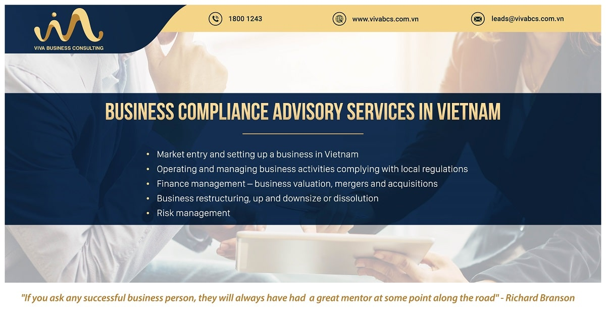 Business compliance advisory services in Vietnam