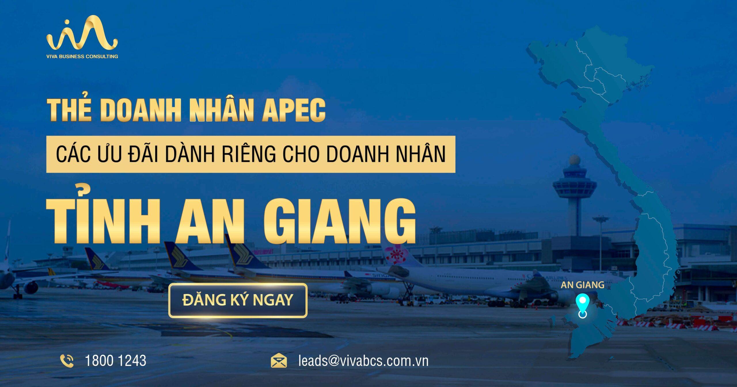 Chương trình kết nối thẻ APEC cùng doanh nhân An Giang