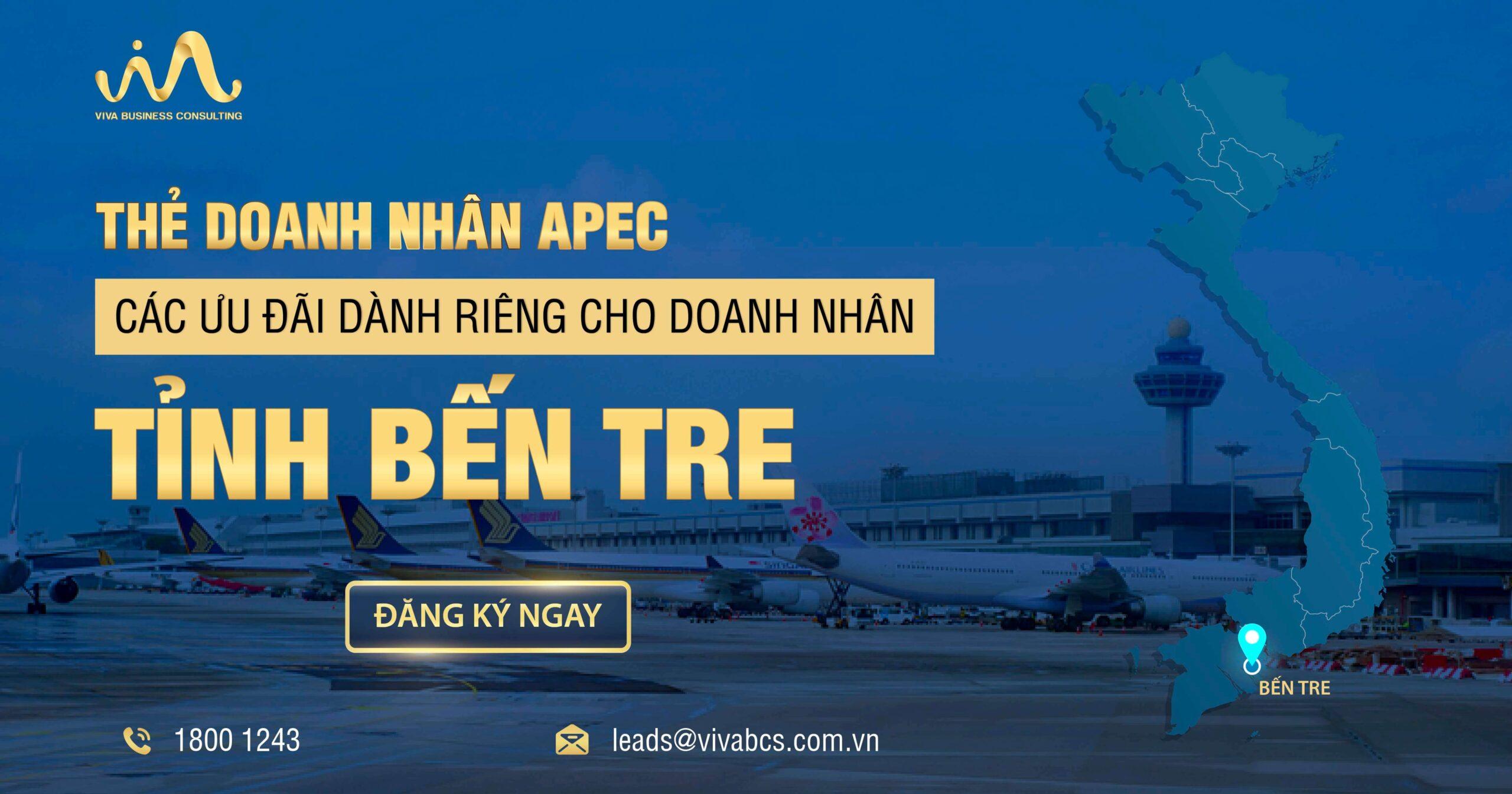 Chương trình thẻ APEC dành riêng cho doanh nhân Bến Tre