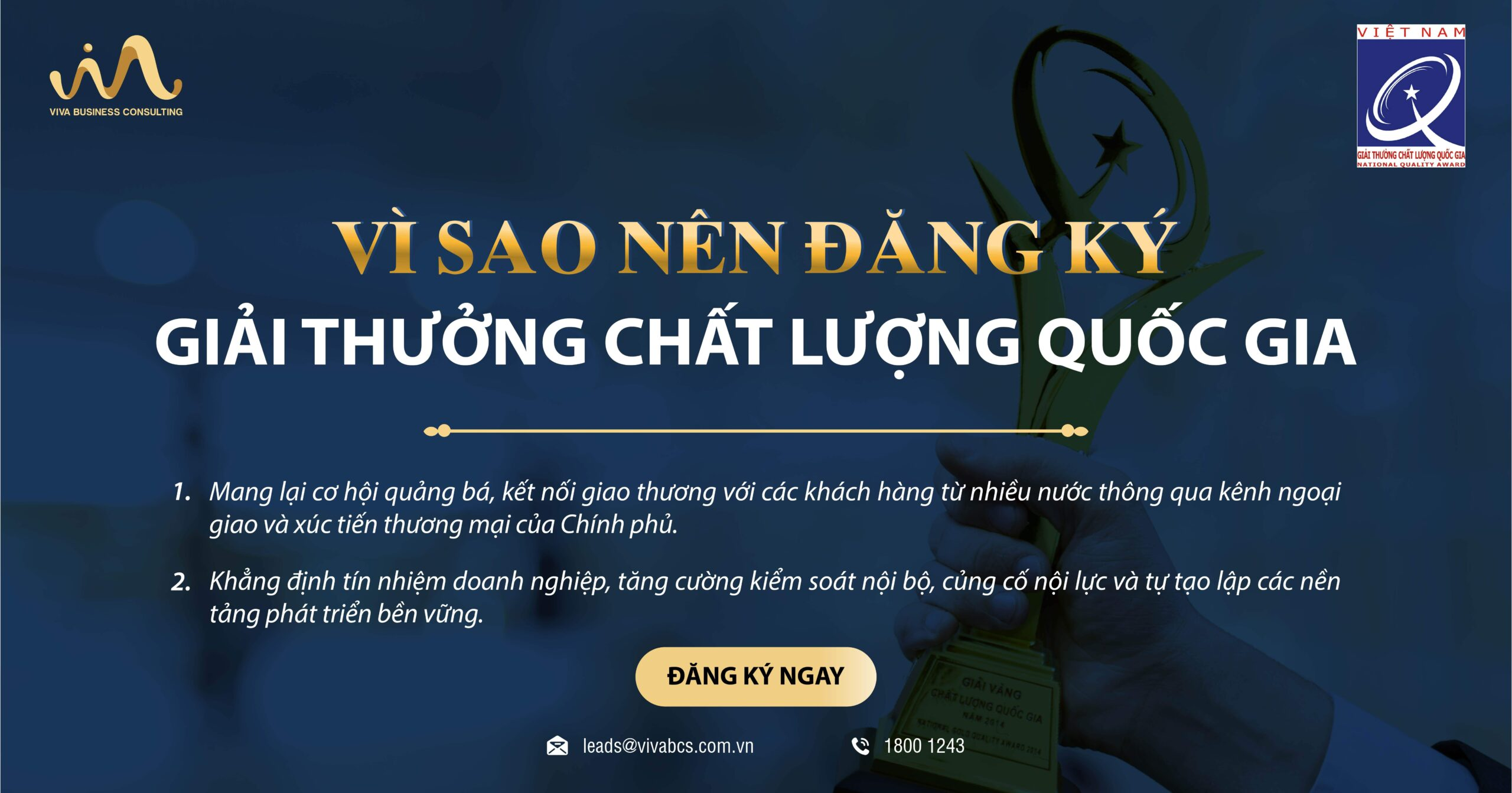 Giải thưởng chất lượng quốc gia Việt Nam 2021