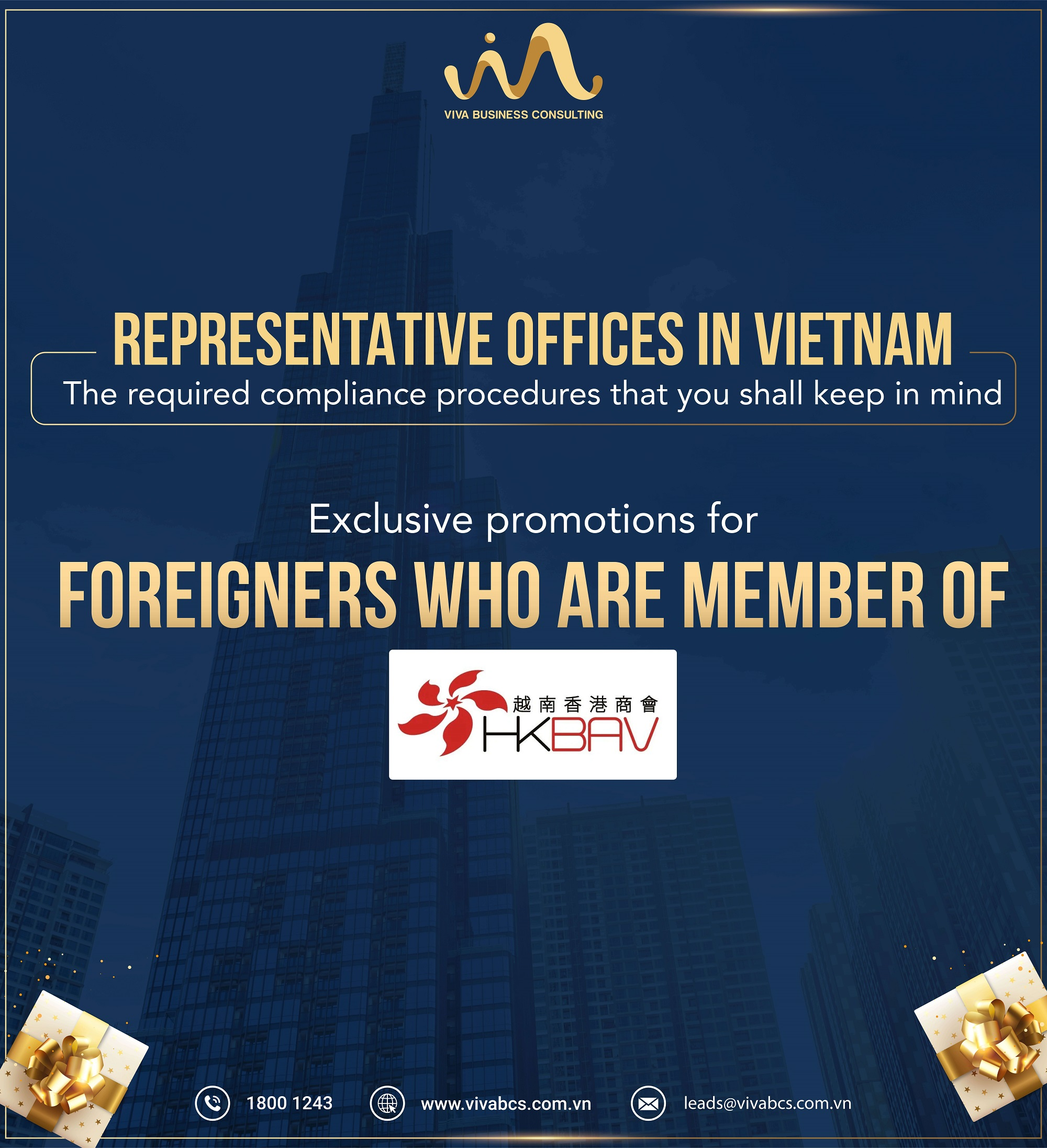 EXCLUSIVE PROMOTIONS FOR HONG KONG CHAMBER