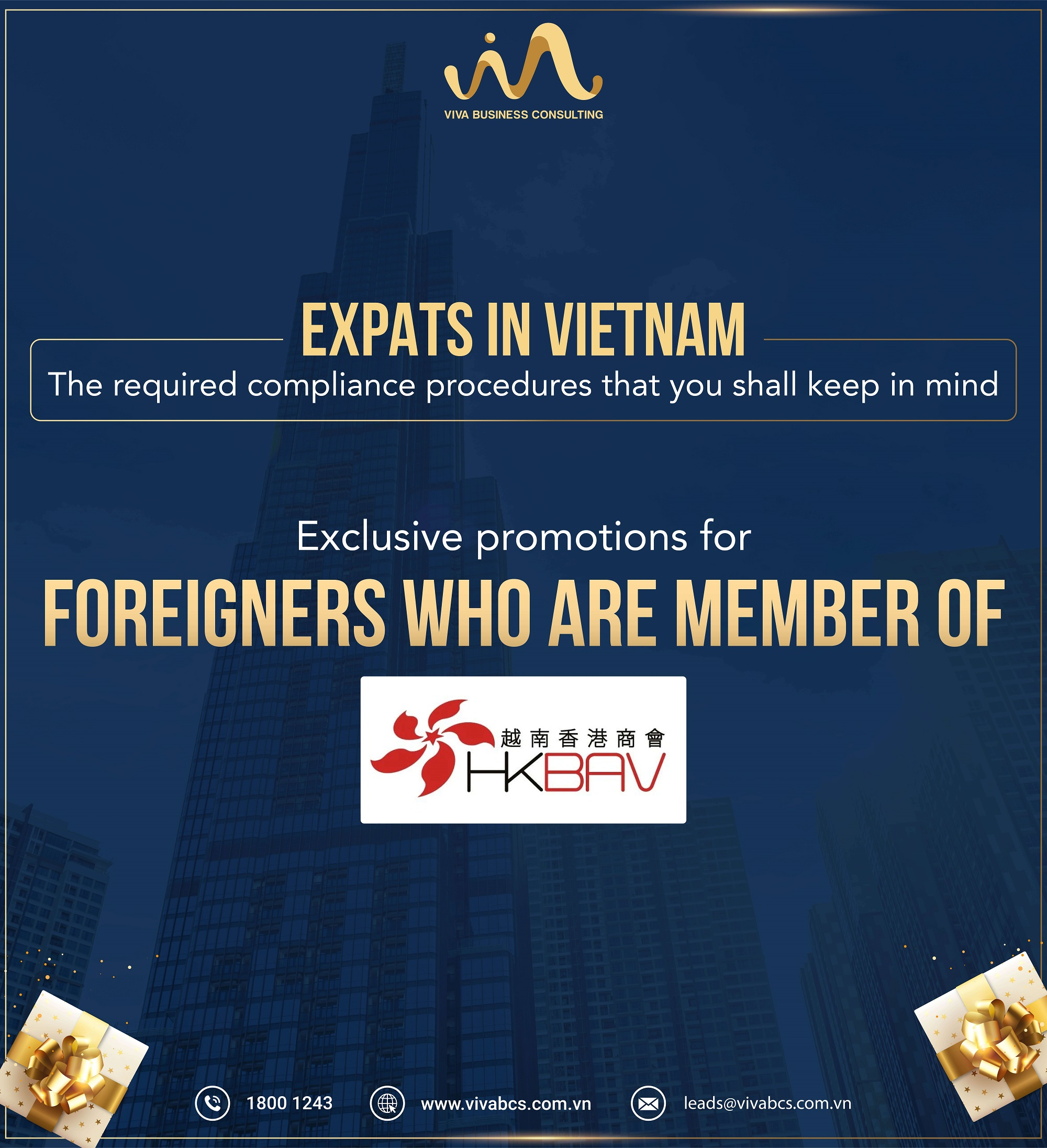 EXCLUSIVE PROMOTIONS FOR MEMBERS OF HKBAV 1 - Trang Chủ