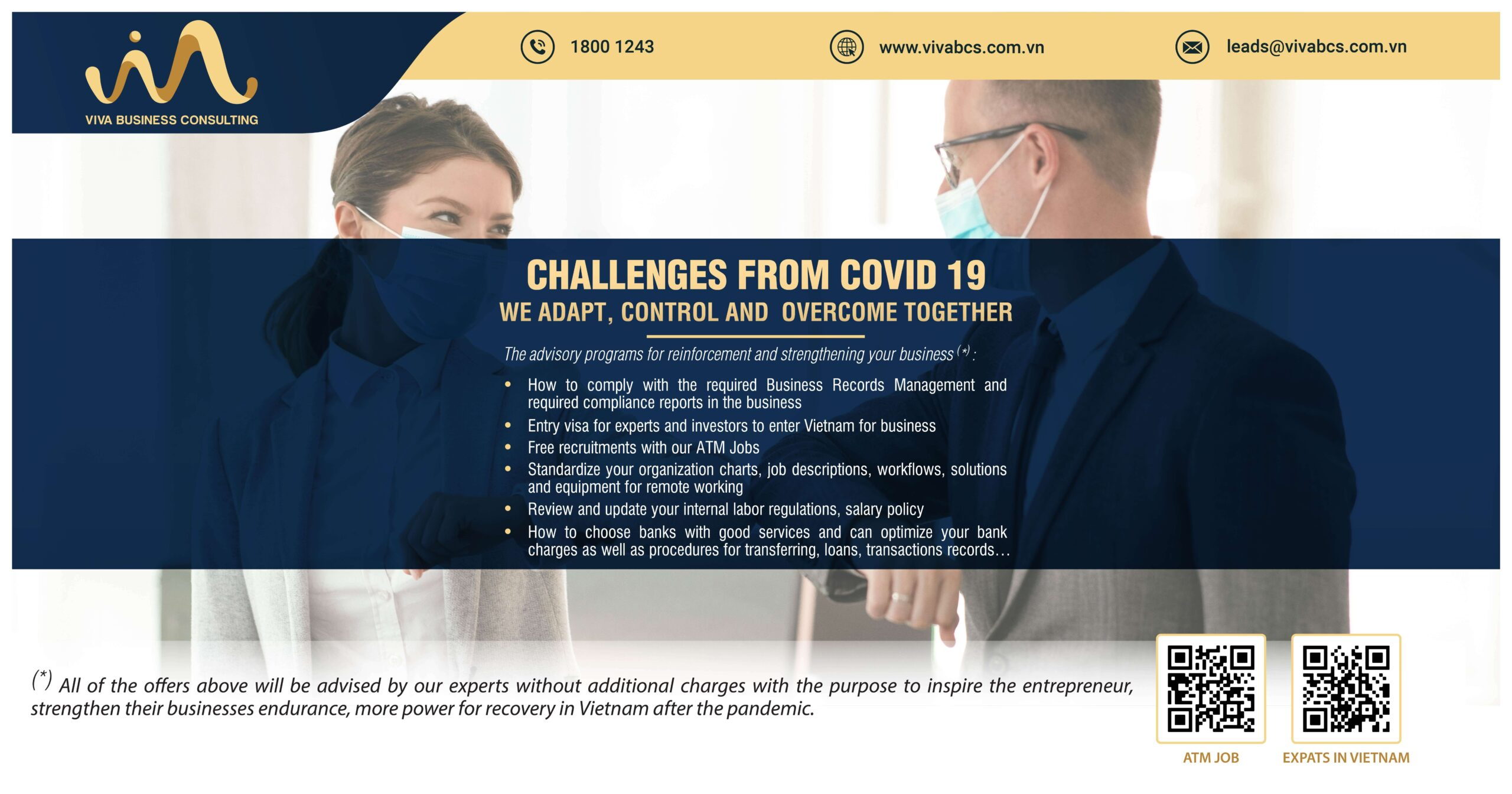 Challenges from COVID-19: Together we adapt, control & overcome