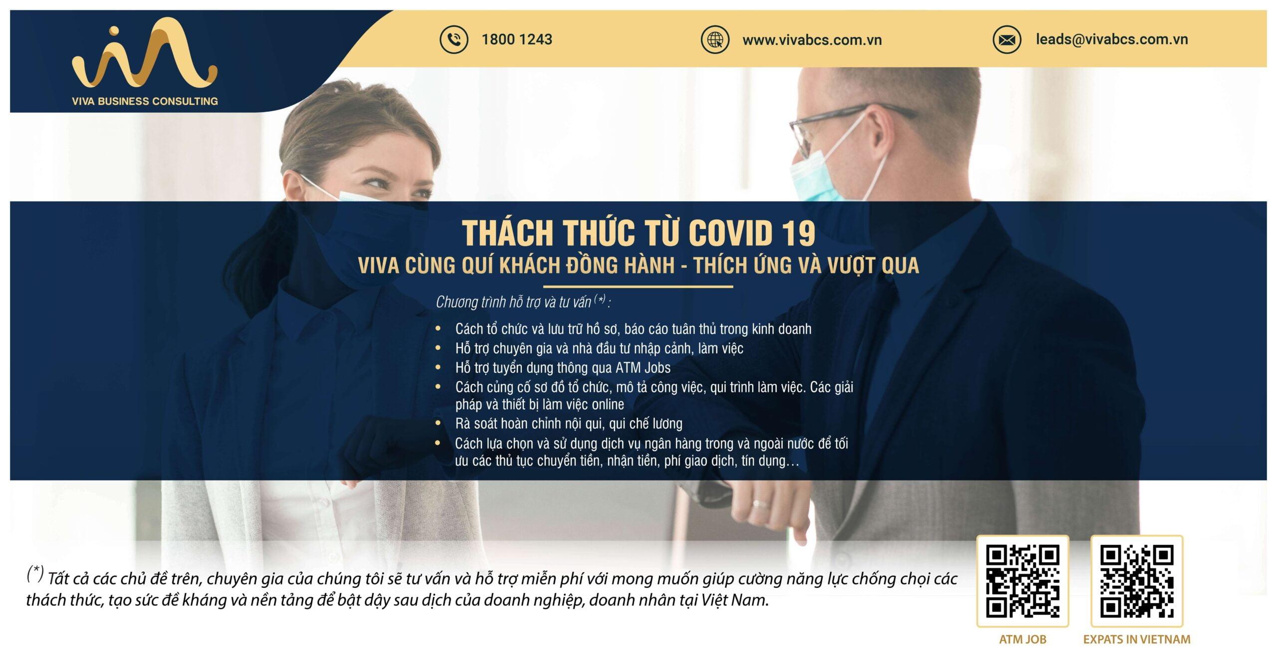Thách thức từ COVID-19 | VIVA cùng quý khách đồng hành & vượt qua