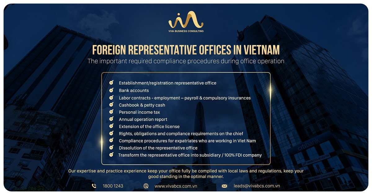 What is a representative offices in Vietnam?