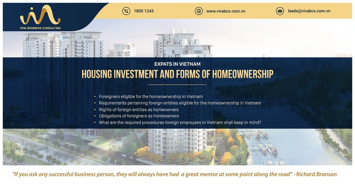 Expats in Vietnam: Forms of homeownership & housing investment
