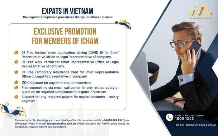 Promotion for EXPAT - ICHAM