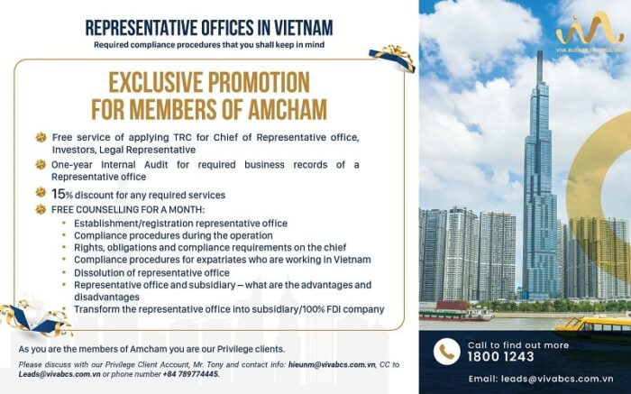 Promotion for REP - AMCHAM