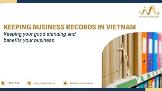 Keep business records in Vietnam