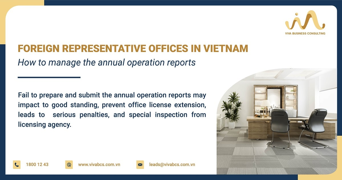 How to manage the annual operation report