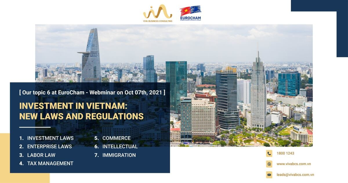 Investment in Vietnam: New Laws and Regulations