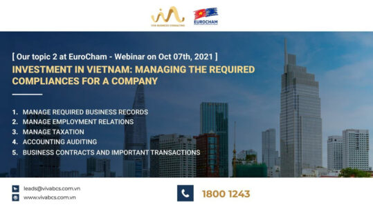 Investment in Vietnam: Managing the required compliances for a company