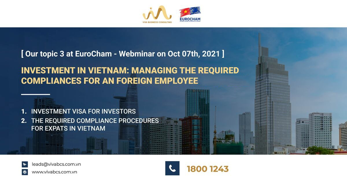 Investment in Vietnam: Managing the required compliances for an foreign employee