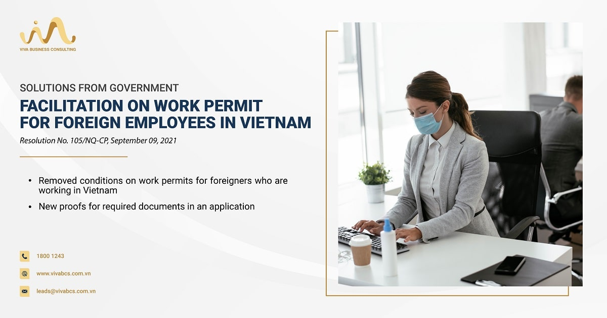 facilitation on work permits for foreign employees in Vietnam